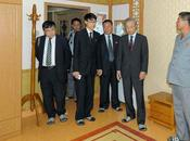Kyodo News Delegation Visits DPRK