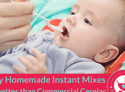 Homemade Food Mixes Better Than Commercial Cerelac Babies
