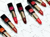 L'Oreal Star Matte Reds Review Swatches