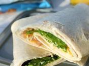Friendly Lunch: Turkey Spinach Wrap