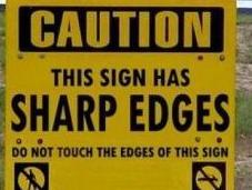 Warning Labels Could Impeding Natural Selection Process