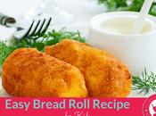 Easy Bread Roll Recipe Kids