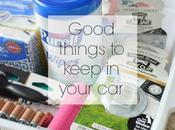 Good Things Keep Your Car.