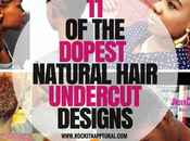 Dopest Natural Hair Undercut Styles ASAP