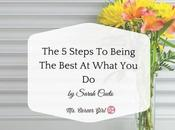 Steps Being Best What
