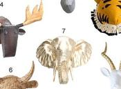 Look: Faux Animal Heads
