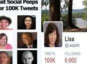 Most Awesome Social Peeps 100K Tweets