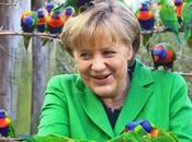 German Chancellor Angela Merkel ~lories Parrots Migrant Crisis
