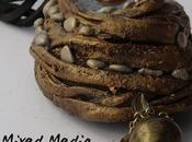 Material Mondays Mixed Media Necklace