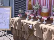 Beautiful Pink Gold Christening Memories Sweet Lolly Buffet
