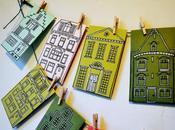 DIY: European Village Advent Calendar