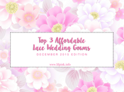 Affordable Lace Wedding Gowns, December 2015 Edition