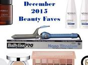 Beauty Favorites December 2015