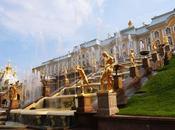 """水飛沫が眩しいペテルゴフ夏宮殿 Peterhof Palace, Петерго́ф, """"Russian Versailles"""""""