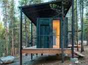 Tiny Prefab Cabins Upgrade Rugged Camping Site Colorado