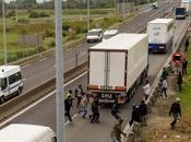 """Refugees"" Battle Tiny Swedish Village; Attack Truck Drivers Cross-channel Tunnel"