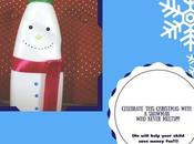 Snowman Money Bank with Your Toddler This Christmas