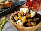 Spinach, Corn Feta Mini Tarts