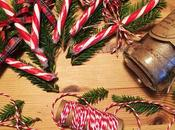 Christmas Table Decorations Candy Canes Twine
