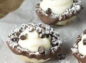 Chocolate Dipped Cannoli Cups