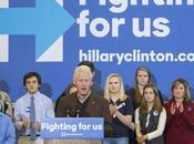 Women Show Their Love Bill Clinton Stumps Hillary