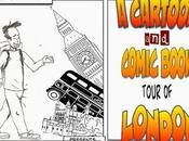 Cartoon Comic Book Tour London Panel House Illustration @illustrationHQ