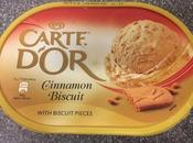 Today's Review: Carte D'or Cinnamon Biscuit