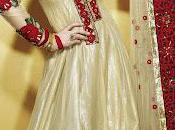Bollywood Salwar Kameez Anarkali Suit With Intricate Embroidery Matching Dupatta