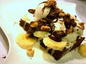 Flavor Bakes? Fudge Brownie-Banana Vanilla Cream Sundae