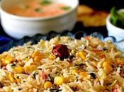 Corn Methi Pulav Rice Recipe