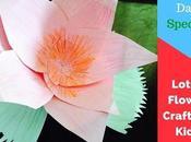 Paper Lotus Flower Kids Republic Special