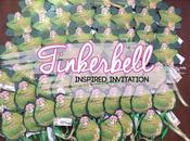 Invitation Tinkerbell Sticks
