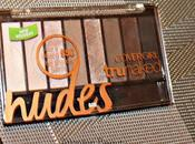 Review Swatches Cover Girl's TruNaked Nude Palette
