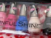 Perfect Valentine's Manicure Colors with Sinful SinfulShine Tech