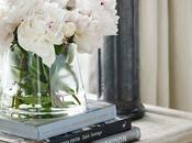 Fresh Flowers, Books, Candles