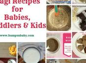 Ragi Recipes Babies, Toddlers Kids