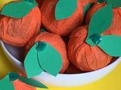 Easy DIY: Tissue Paper Oranges