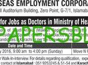 Overseas Employment Corporation Islamabad Jobs