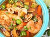 Caldo Mariscos (Mexican Seafood Soup) #BloggerCLUE