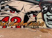 East London Rebels Mural D*Face Shoreditch