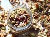 Slightly Sweet Grain Free Granola (Paleo, Free, Vegan, SCD, GAPS, Added Sweetener)
