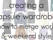 Capsule Wardrobe Tips: Merging Work Weekend Style