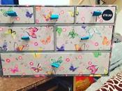 Amelie Colourful Butterfly Floral Multi Drawer Unit Review
