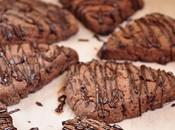 Eggless Triple Chocolate Scones #BreadBakers