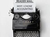 Reader Mail: Chose Accounting