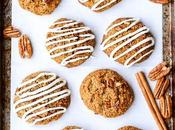 Carrot Cake Cookies with Cream Cheese Glaze Refined