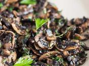 Kitchen Basics: Freezer Ready Garlic Mushrooms