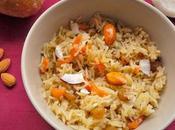 Jaggery Carrot Rice (Gur Walay Chawal)