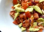 Simple Tomato Avocado Salad