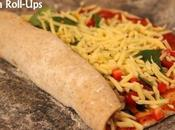 Healthy Oat-Wholemeal Pizza Roll